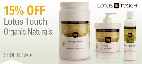 15% Off Lotus Touch Organic Naturals