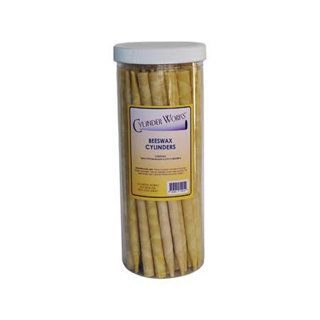 Cylinder Works Beeswax Candles