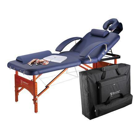 "Masters Monroe Spa Table Package 30"", Navy Blue"