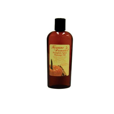 Keyano Pumpkin Spice Massage Oil