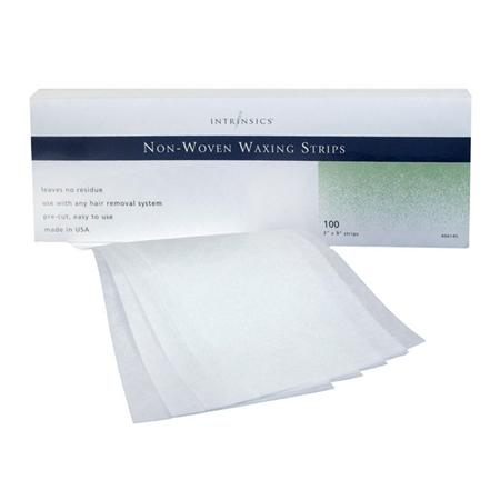 "Intrinsics Non-Woven Waxing Strips 3X9"" 100 Pack"