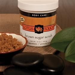 Lotus Touch Brown Sugar Scrub