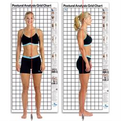 Kent Postural Analysis Grid Chart-Original