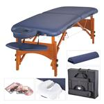 "Masters Monroe LX Table Package, 30"" Navy Blue"