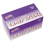 Wooden Waxing Sticks Large 1000 Count 6""