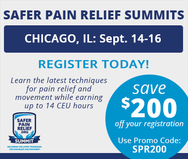 Safer Pain Relief Summit