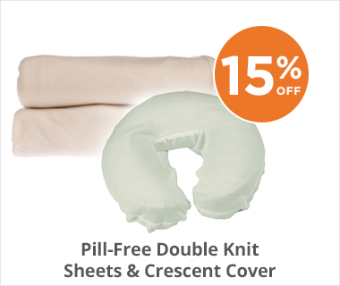 Pill-Free Double KnitSheets & Crescent Cover