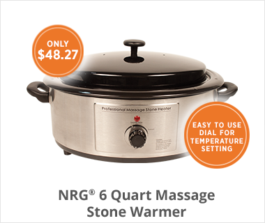 NRG Massage Stone Warmer