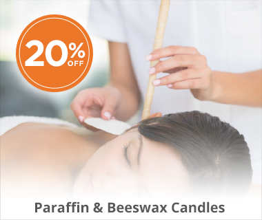 Paraffin Beeswax Candles