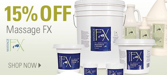 15% Off Massage FX Cream