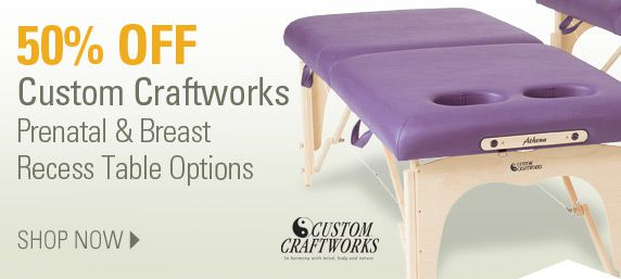 Custom Craftworks Table Options