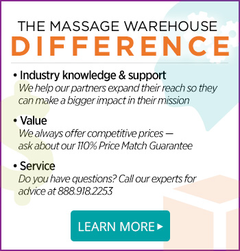 The Massage Warehouse Difference
