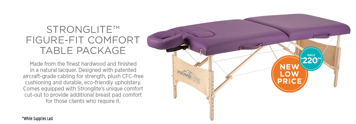 Figure-Fit Comfort Table Package