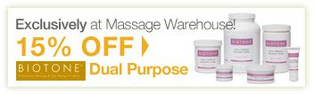 Exclusively at Massage Warehouse!