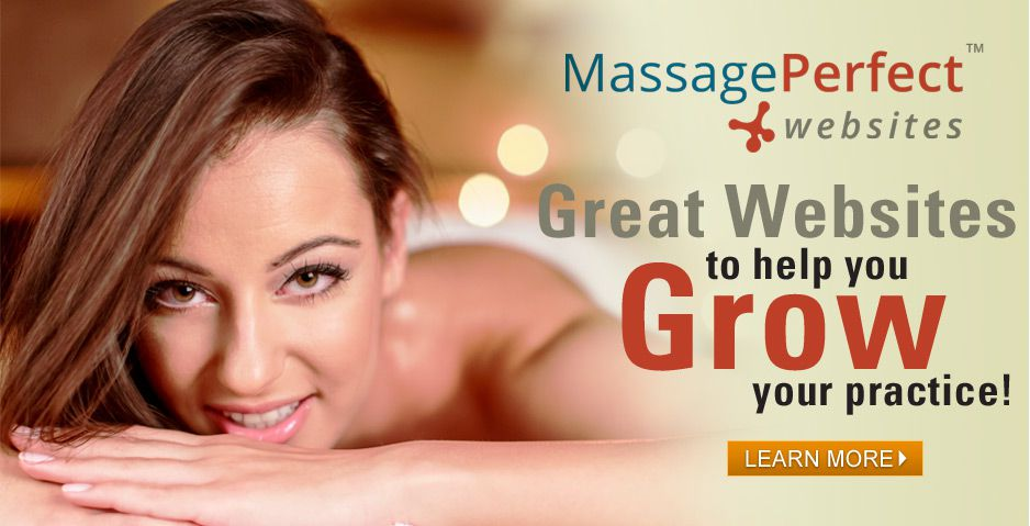 Massage Perfect Websites