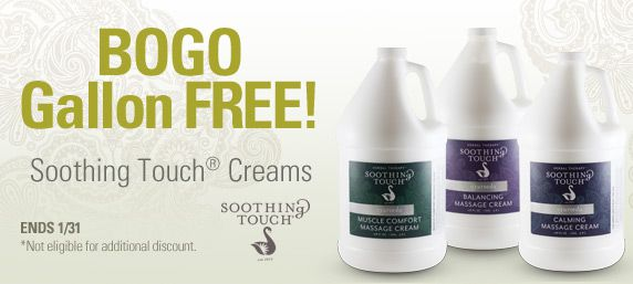 Soothing Touch Buy 1 Gallon, Get 1 Free