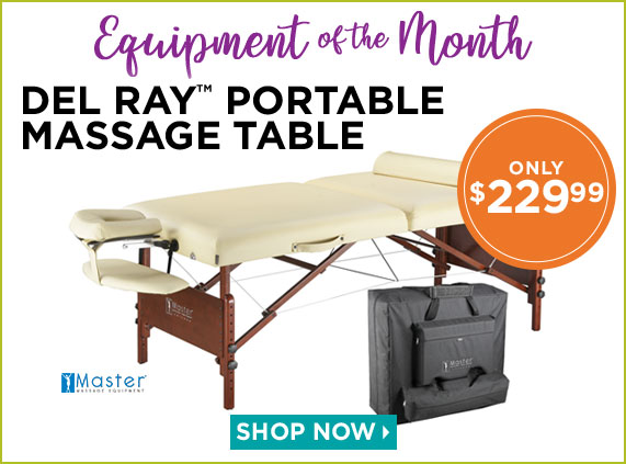 Del Ray Portable Massage Table
