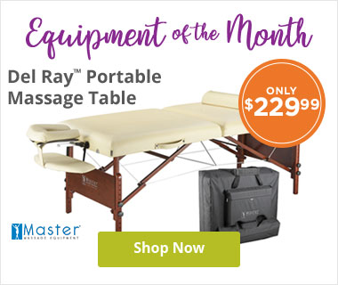Del Ray Portable Massage Table Package