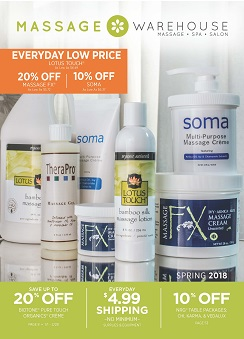 Massage Warehouse Catalog