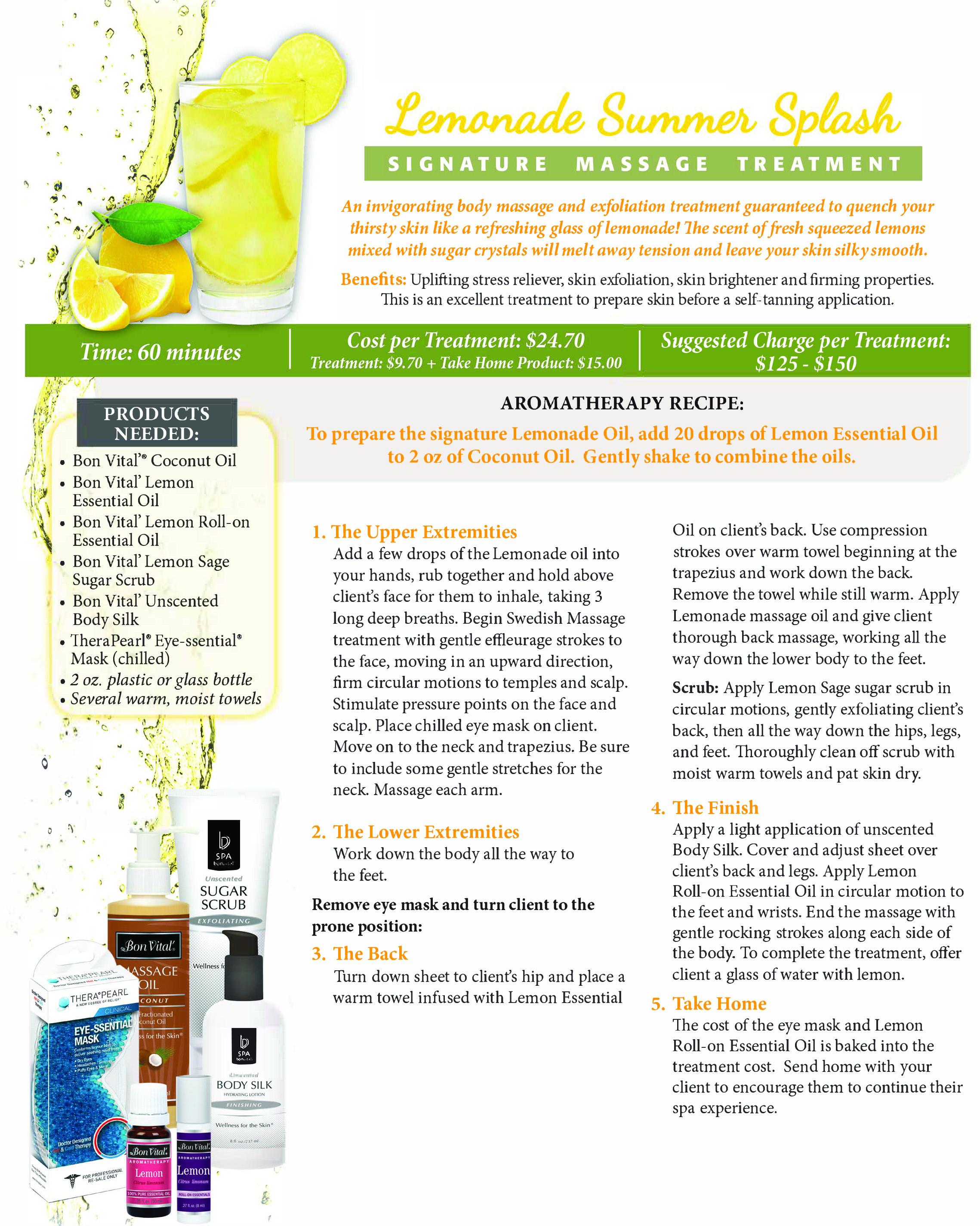 Lemonade Summer Splash