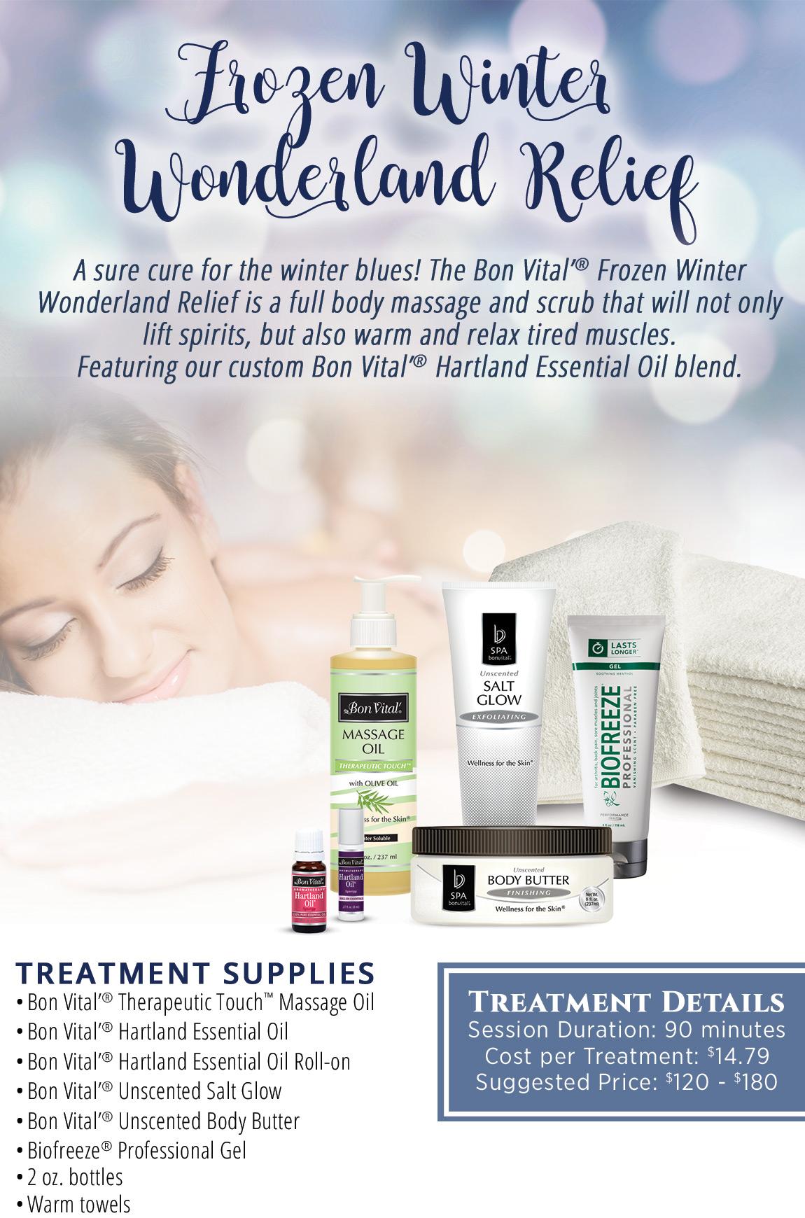 Frozen Winter Wonderland Relief Bon Vital' Protocol