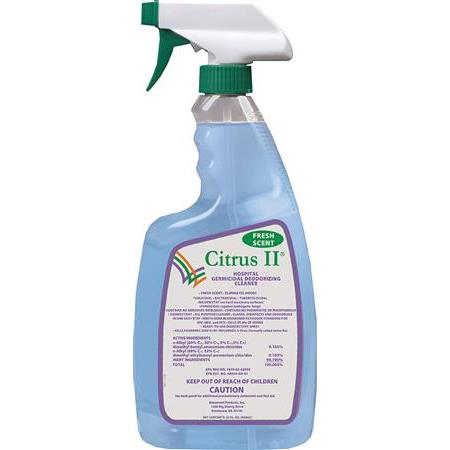 Citrus II® Hospital Germicidal Deodorizing Cleaner