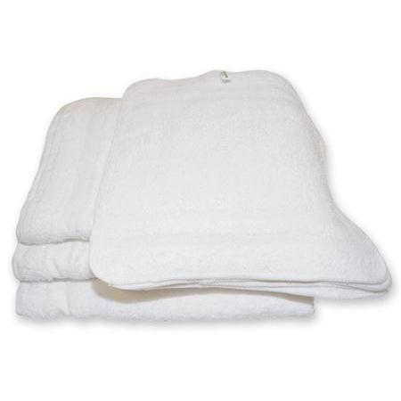 "Washcloth 12""X12"" White 12 Pack"