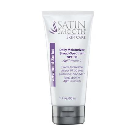 Satin Smooth Skincare Daily Moisturizer SPF 30 1.7oz.