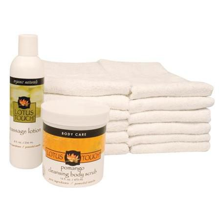 Lotus Touch Cleansing Body Scrub Treatment Package
