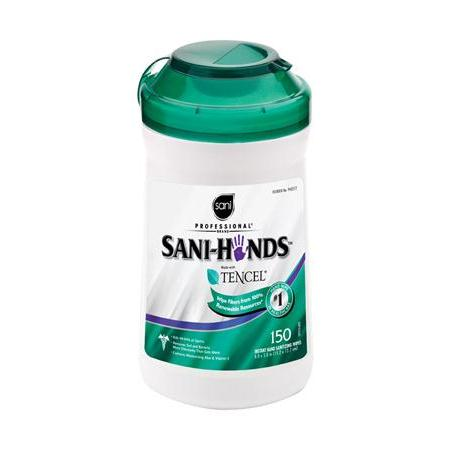 Sani-Hands® Antimicrobial Hand Wipes 150/Tub