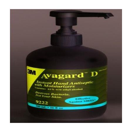 3M Avagard Instant Hand Antiseptic with Moisturizers,16 oz