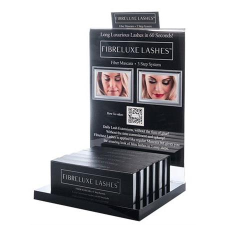 Fibreluxe Lashes Fiber Mascara Display Package