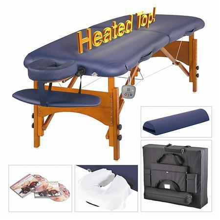 "Masters Monroe LX ThermaTop Table Package, 30"" Navy Blue"