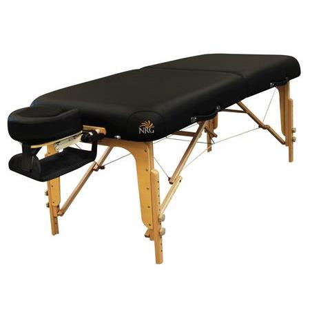 NRG® Vedalux Portable Massage Table Package