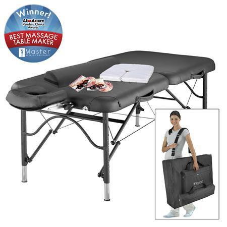 "Athletico LX 30"" Massage Table Package, Black"