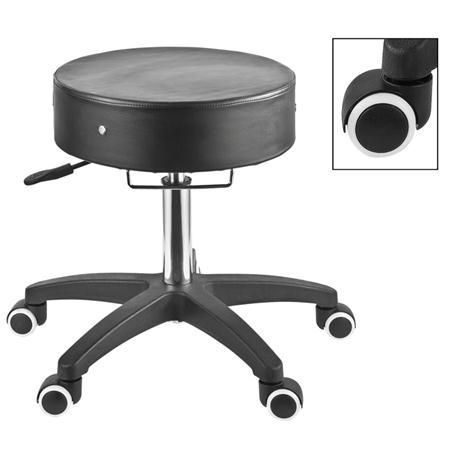 MHP Deluxe Adjustable Rolling Stool