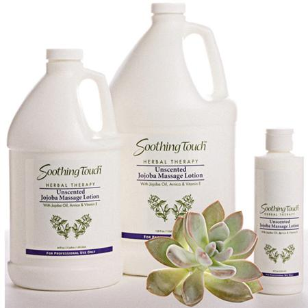 Soothing Touch Jojoba Unscented Lotion 8 Oz