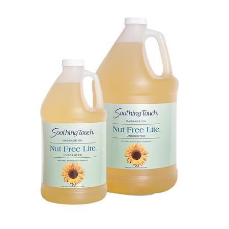 Soothing Touch Nut Free Lite Massage Oil 5 Gal