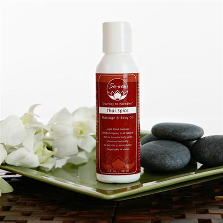 Sa-Wan Thai Spice Massage And Body Oil
