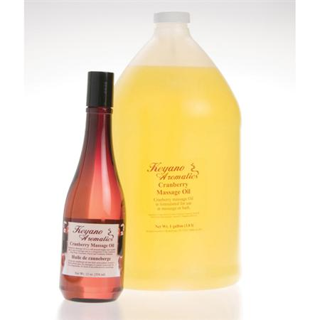 Keyano Cranberry Massage Oil