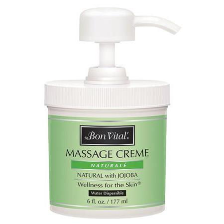 Bon Vital Naturale Massage Creme 6 Oz