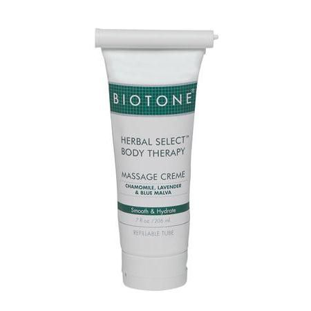 BIOTONE® Herbal Select® Body Massage Creme, 7 oz Refillable