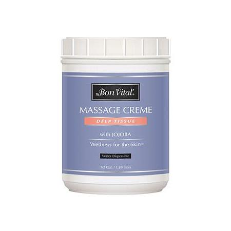 Bon Vital Deep Tissue Massage Creme 1/2 Gallon