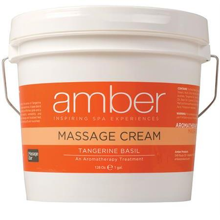 Amber Tangerine Basil Massage Cream