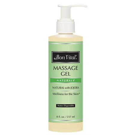 Bon Vital Naturale Massage Gel 8 Oz Pump