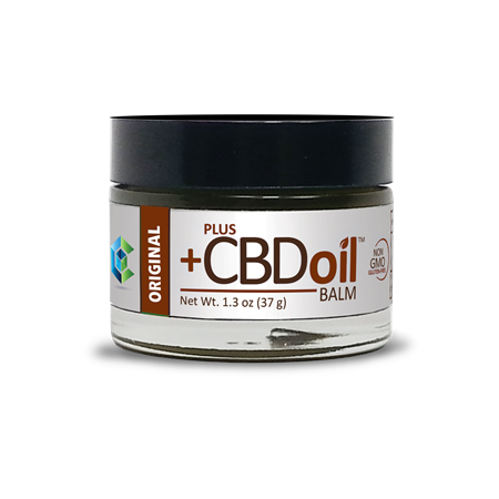 Plus CBD Oil™ Original CBD Balm - 50 mg CBD - 1 3 oz