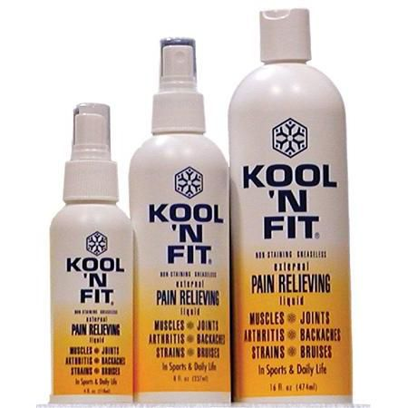 Kool 'N Fit Pain Relieving Formula
