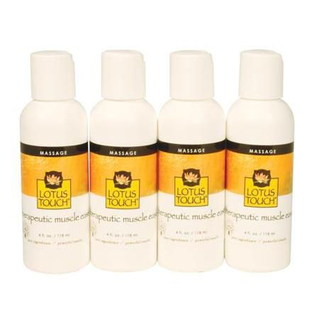 Lotus Touch Therapeutic Muscle Ease Buy 2 Get 2 - 4oz FREE!