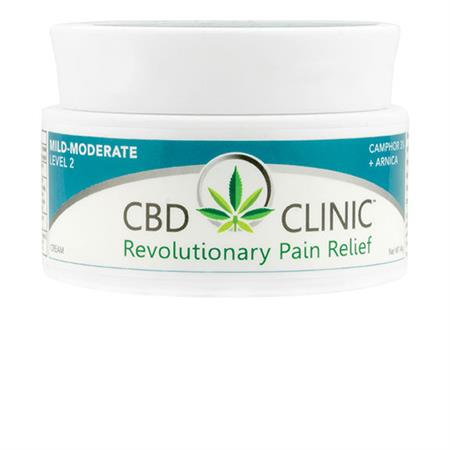 cbd clinic pain relief cream