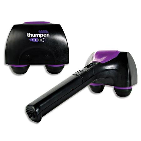 Thumper's legendary massager, the Mini Pro will definitely be a considerable companion for any therapist, or home user. Let's see its pros and cons which we uncover in this Thumper massage review/